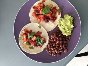 tacos, Mexico City, home cooked